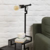 Lampe la confidente dans salon