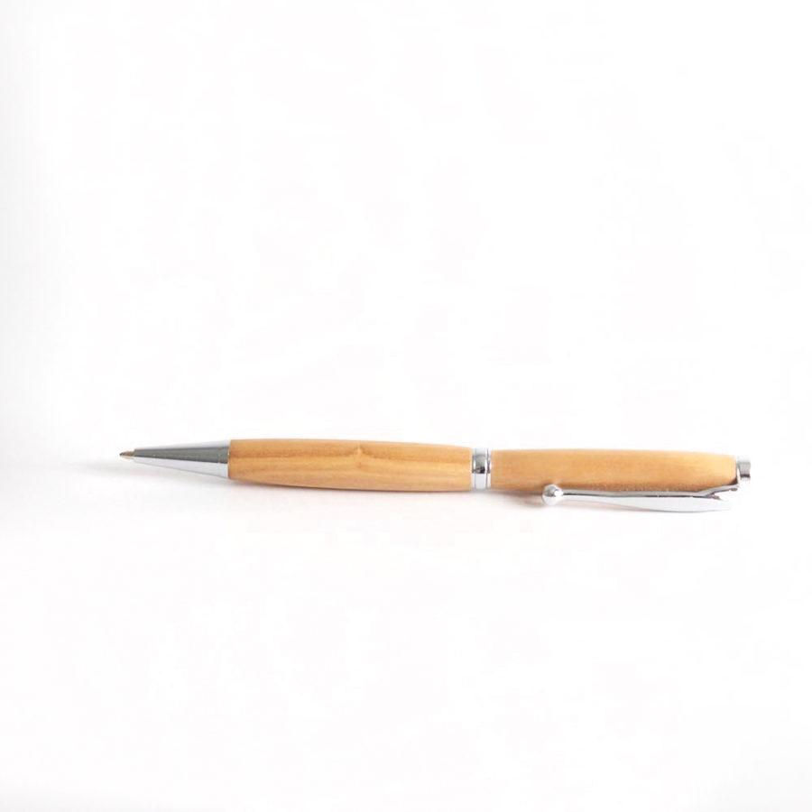 stylo en bois d'olivier