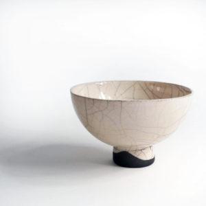 Bol en céramique raku Fuji