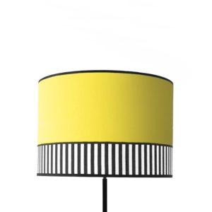 Abat-jour tissu Collection Lampion jaune citron