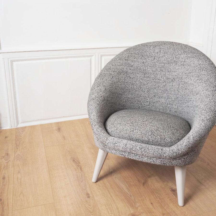fauteuil kiwi gris salon