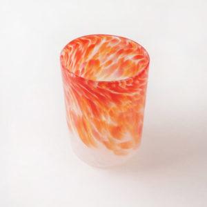 verres en verre soufflé selon la méthode vénissienne