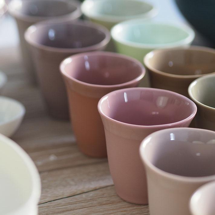 fabrication des timbales en porcelaine tulipe