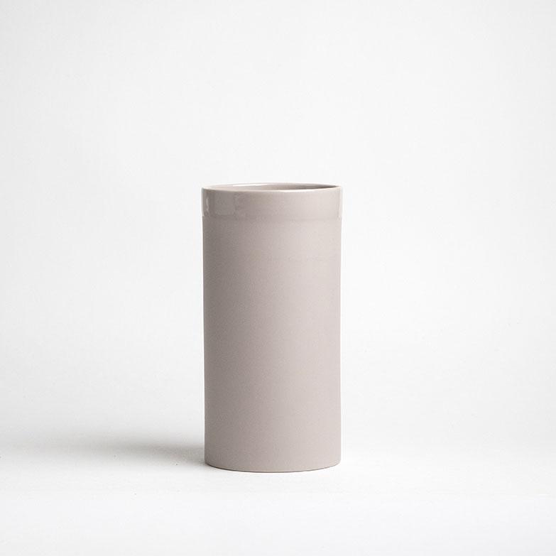vase en porcelaine gaelle couleur chablis