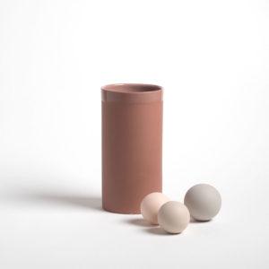 vase en porcelaine gaelle tomette