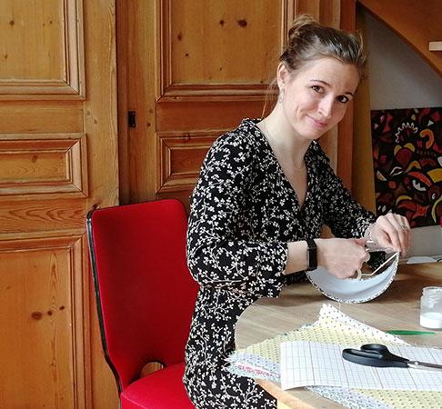 atelier de tapissier Mademoiselle Lumière